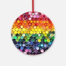 Color Full Ornament (Round)