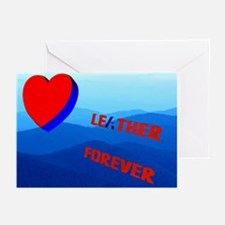 LEATHER FOREVER_ENDLESS MTNS/mekinky GreeGCRDS10PK