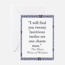 I Will Find You Twenty Greeting Card