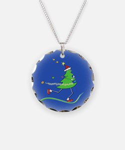 Christmas Tree Runner Necklace