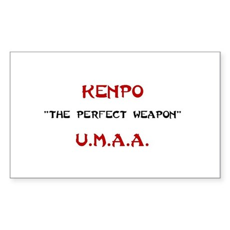 OFFICIAL United Martial Arts Academy Kenpo Sticker