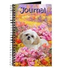 Shih Tzu Fine Art Lily Journal