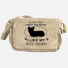 I like my Skye Terrier Messenger Bag