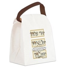 Horse Treats Canvas Lunch Bag