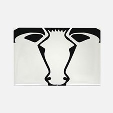 Cow5 Rectangle Magnet