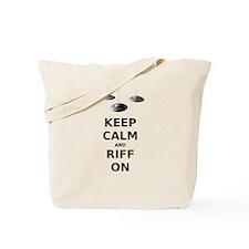 Keep Calm and Riff On Tote Bag