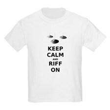 Keep Calm and Riff On T-Shirt