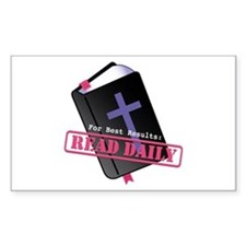 Read Bible Daily Decal