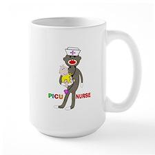 PICU Nurse Sock monkey.PNG Mug