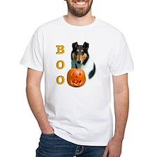 Halloween Smooth Collie Boo Shirt