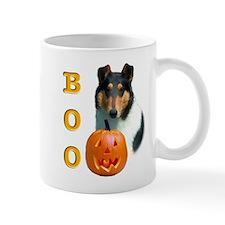 Halloween Smooth Collie Boo Mug