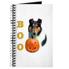 Halloween Smooth Collie Boo Journal