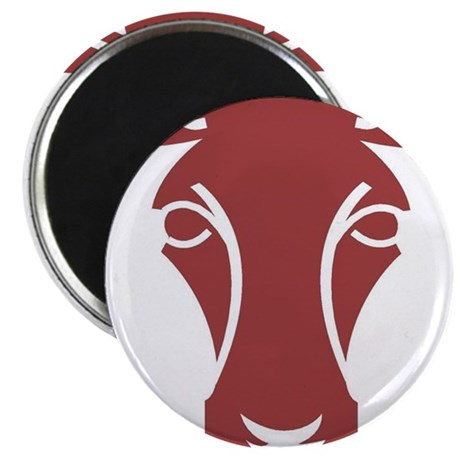 "Cow6 2.25"" Magnet (10 pack)"