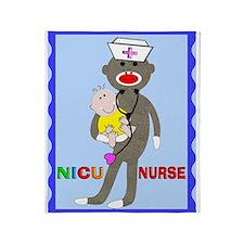 NICU Nurse Blanket.PNG Throw Blanket