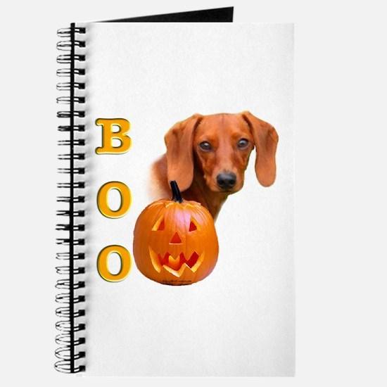 Halloween Dachshund Boo Journal