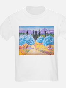 Painting of Les Alpilles T-Shirt
