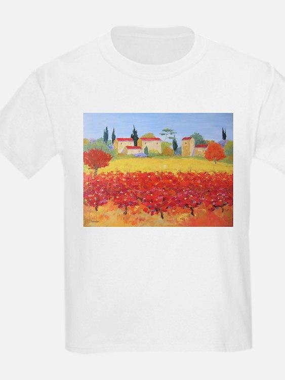 Vines Painting T-Shirt