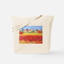 Vines Painting Tote Bag