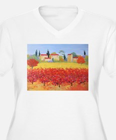 Vines Painting T-Shirt