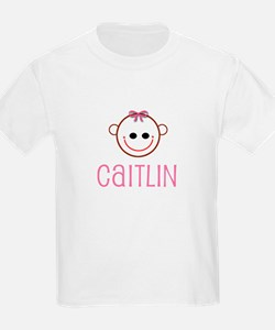 Caitlyn - Baby Face Kids T-Shirt