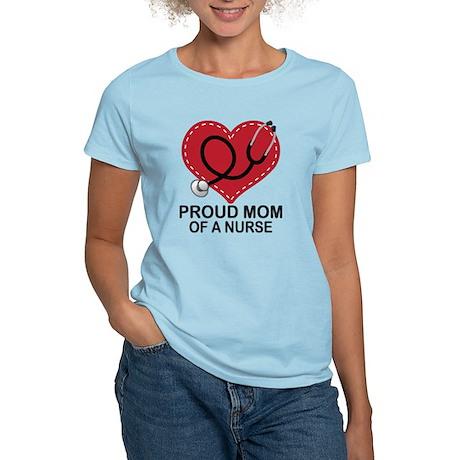 Proud Mom Of A Nurse Women's Light T-Shirt