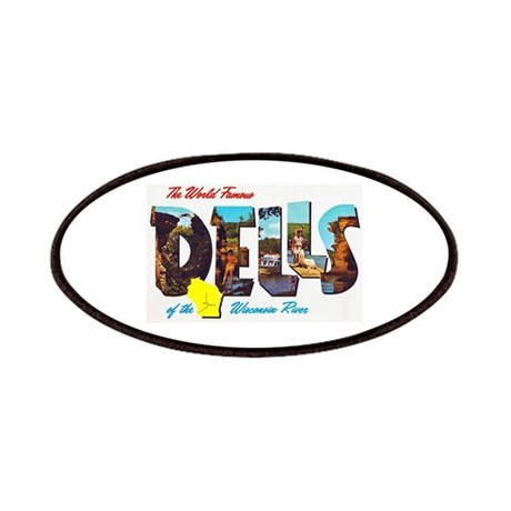 Dells Wisconsin Greetings Patches