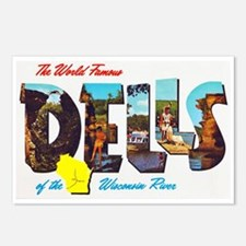 Dells Wisconsin Greetings Postcards (Package of 8)