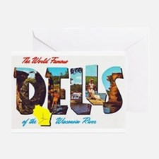 Dells Wisconsin Greetings Greeting Card
