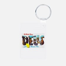 Dells Wisconsin Greetings Keychains