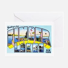Finger Lakes New York Greeting Card