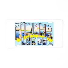 Finger Lakes New York Aluminum License Plate