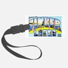 Finger Lakes New York Luggage Tag
