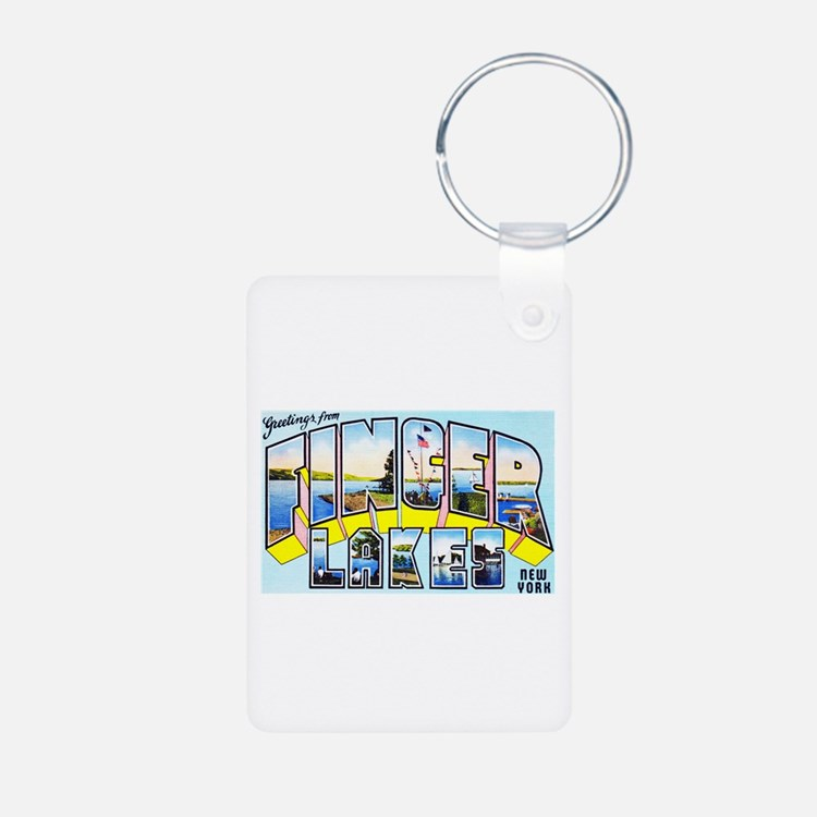 Finger Lakes New York Keychains