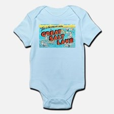 Great Salt Lake Utah Infant Bodysuit
