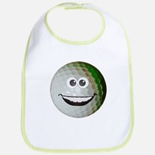 Happy golf ball Bib