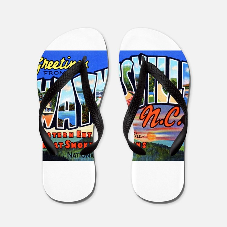 Waynesville North Carolina Flip Flops