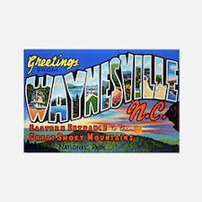 Waynesville North Carolina Rectangle Magnet