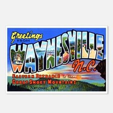 Waynesville North Carolina Postcards (Package of 8