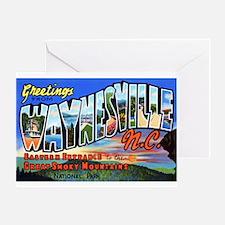 Waynesville North Carolina Greeting Card