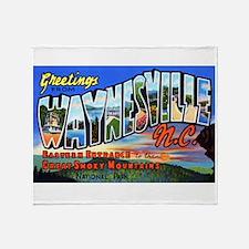 Waynesville North Carolina Throw Blanket