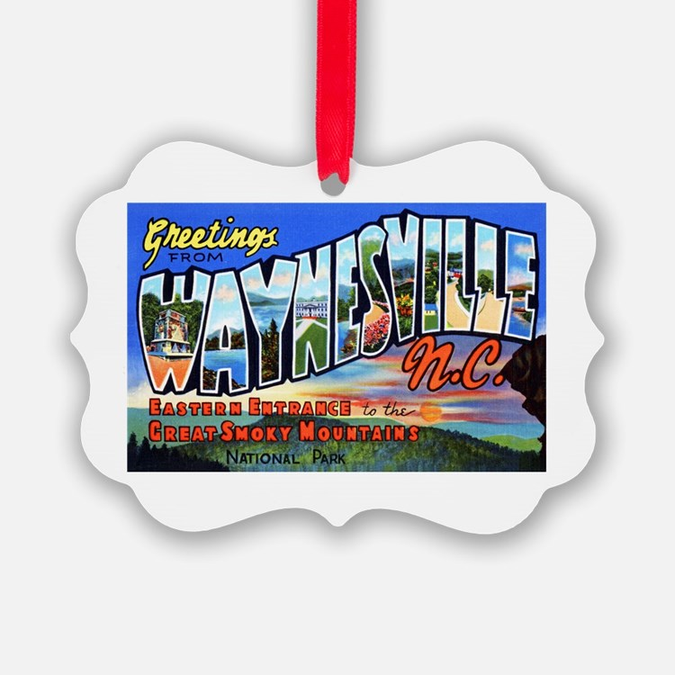 Waynesville North Carolina Ornament