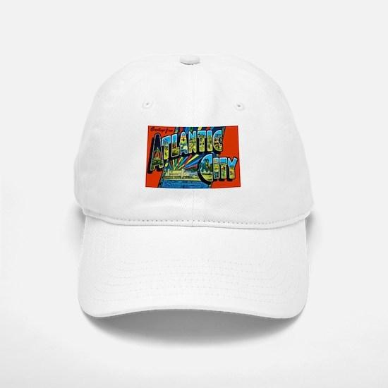 Atlantic City New Jersey Baseball Baseball Cap