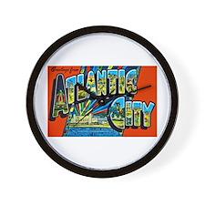 Atlantic City New Jersey Wall Clock
