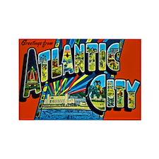 Atlantic City New Jersey Rectangle Magnet