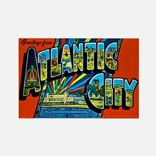 Atlantic City New Jersey Rectangle Magnet