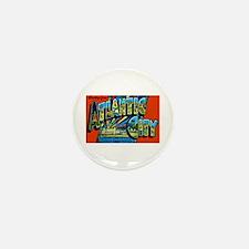 Atlantic City New Jersey Mini Button (10 pack)