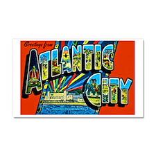 Atlantic City New Jersey Car Magnet 20 x 12