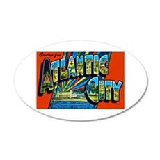 Atlantic City New Jersey Wall Decal