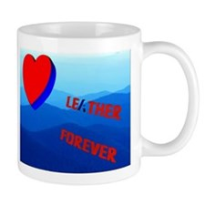 2IMAGE LEATHER 4EVER-ENDLESS MTNS Mug