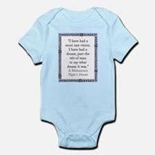 I Have Had A Most Rare Vision Infant Bodysuit